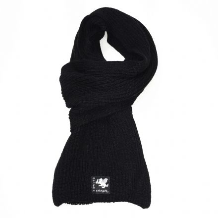 Senlak Knitted Scarf - Black